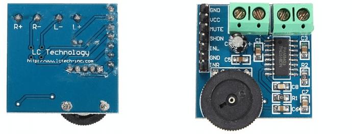 dual channel amplifier