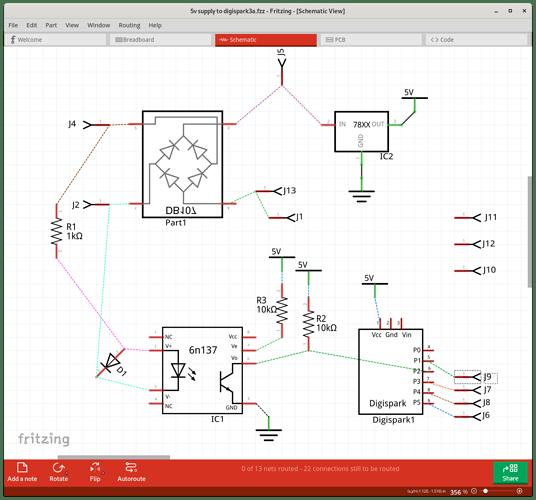 sch layout