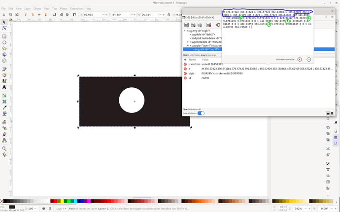 inkscape hole