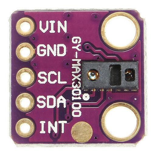 Oximeter-MAX30100-sensor
