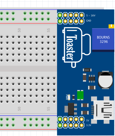 Toaster: The tri-output breadboard power supply - parts submit