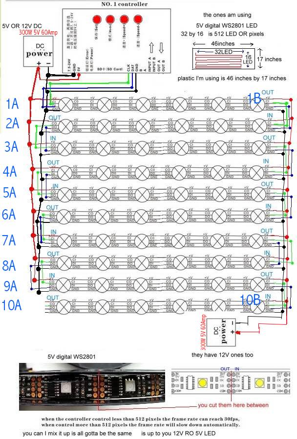 50m 164ft Long Run Rgb Led Strip Power Projects