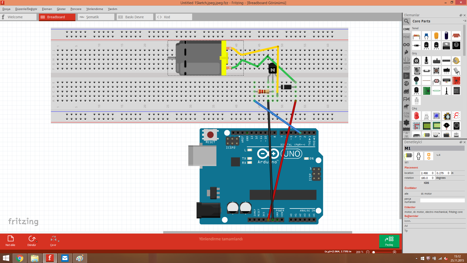 DC Motor Controlling at ardiuno? - projects - fritzing forum