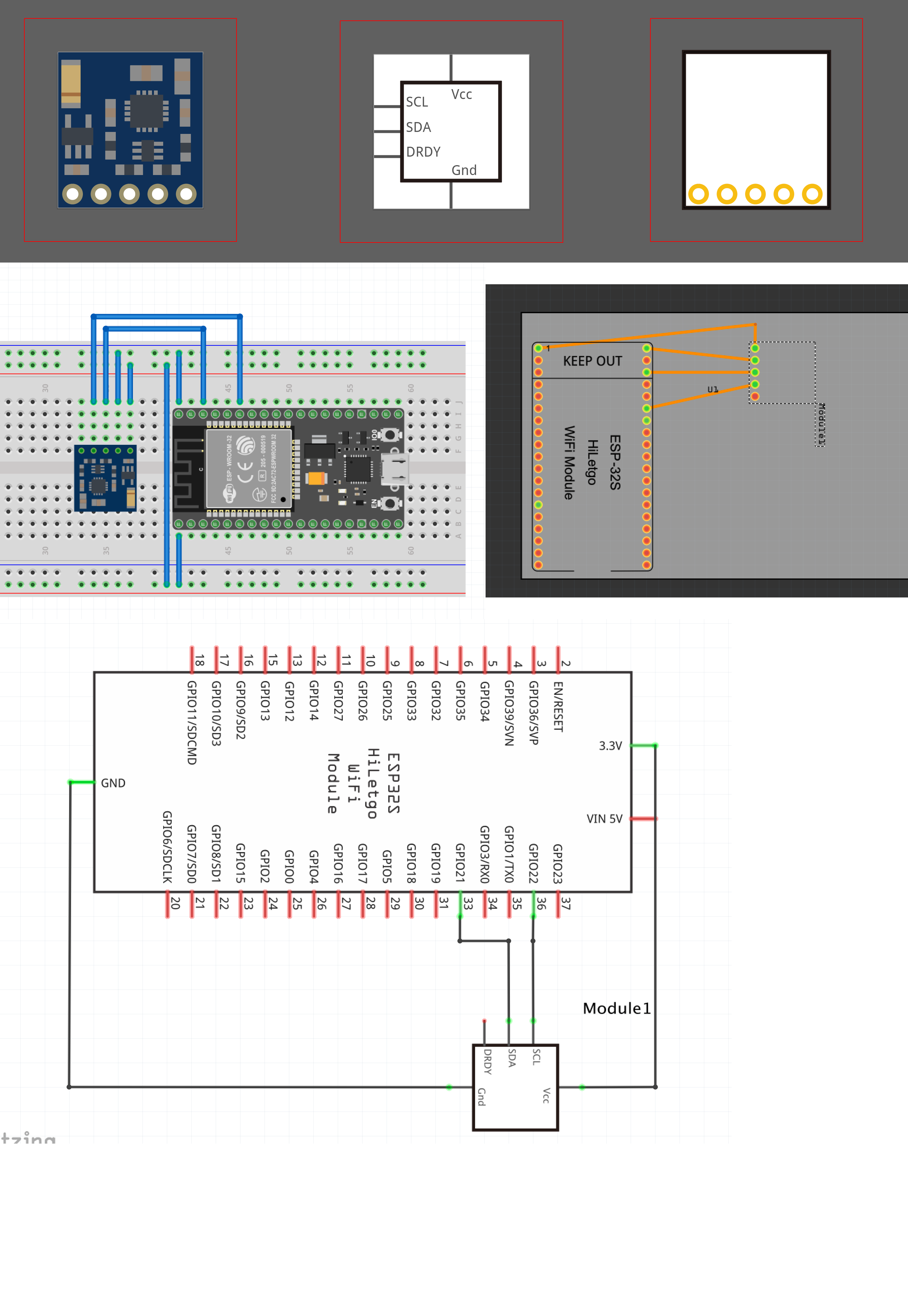 3-Axis Compass GY-271 QMC5883L - parts submit - fritzing forum