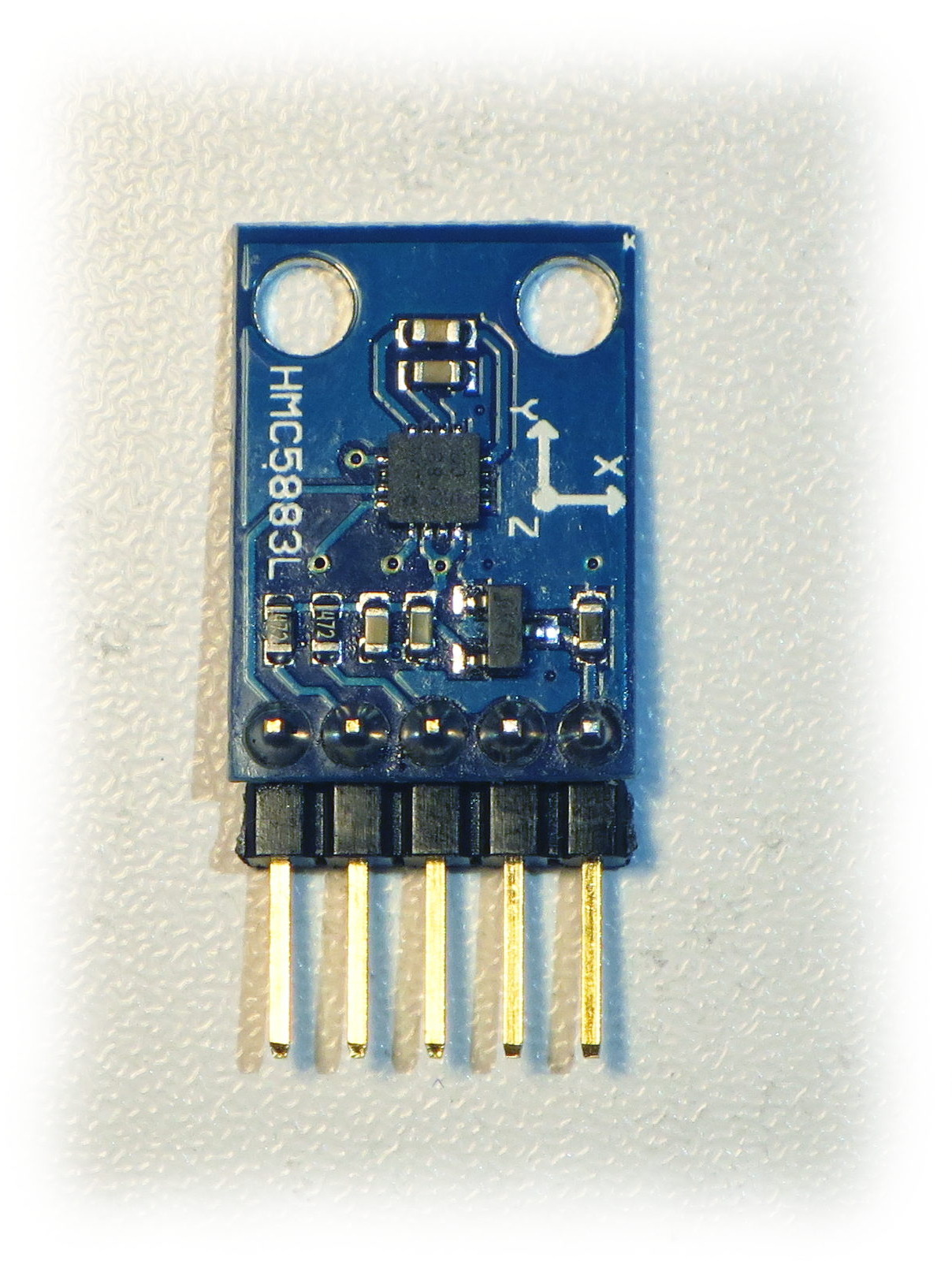 GY273 QMC5883L Triple Axis Magnetometer Breakout - parts
