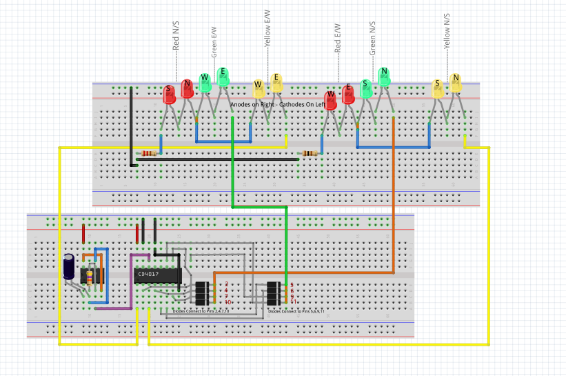 4 Way Traffic light Circuit - projects - fritzing forum  Way Traffic Light Wiring Diagram on 2 way light wiring diagram, 4 way lighting diagram, 6 way light wiring diagram, 4 way light wiring scheme, 4 way electrical diagram, 3 way light wiring diagram, 4 way light switch diagram, 7 way light wiring diagram,