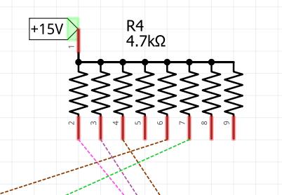 8 Resistor Network