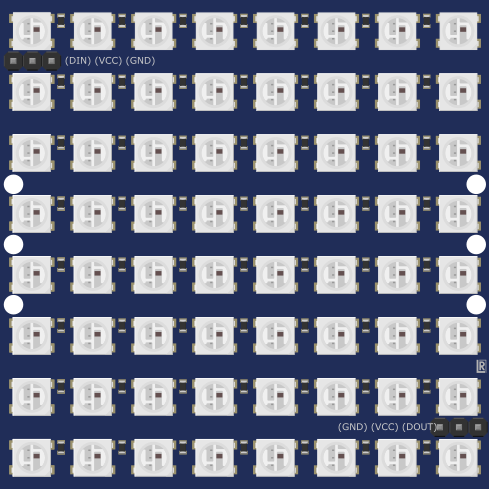WS2812 RGB LED strip & matrix - parts submit - fritzing forum