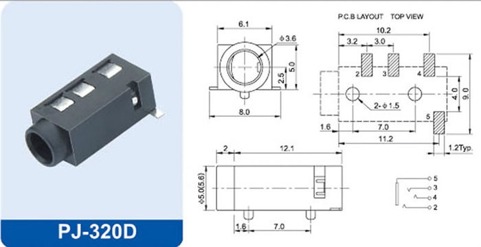 Problem In Creating 3 5mm Audio Jack Smd Parts Help Fritzing Forum