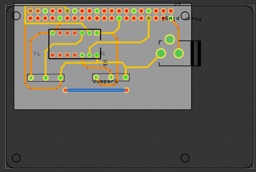 First Sketch - RPI Hat: 2x300 WS2812B LED Strips - projects